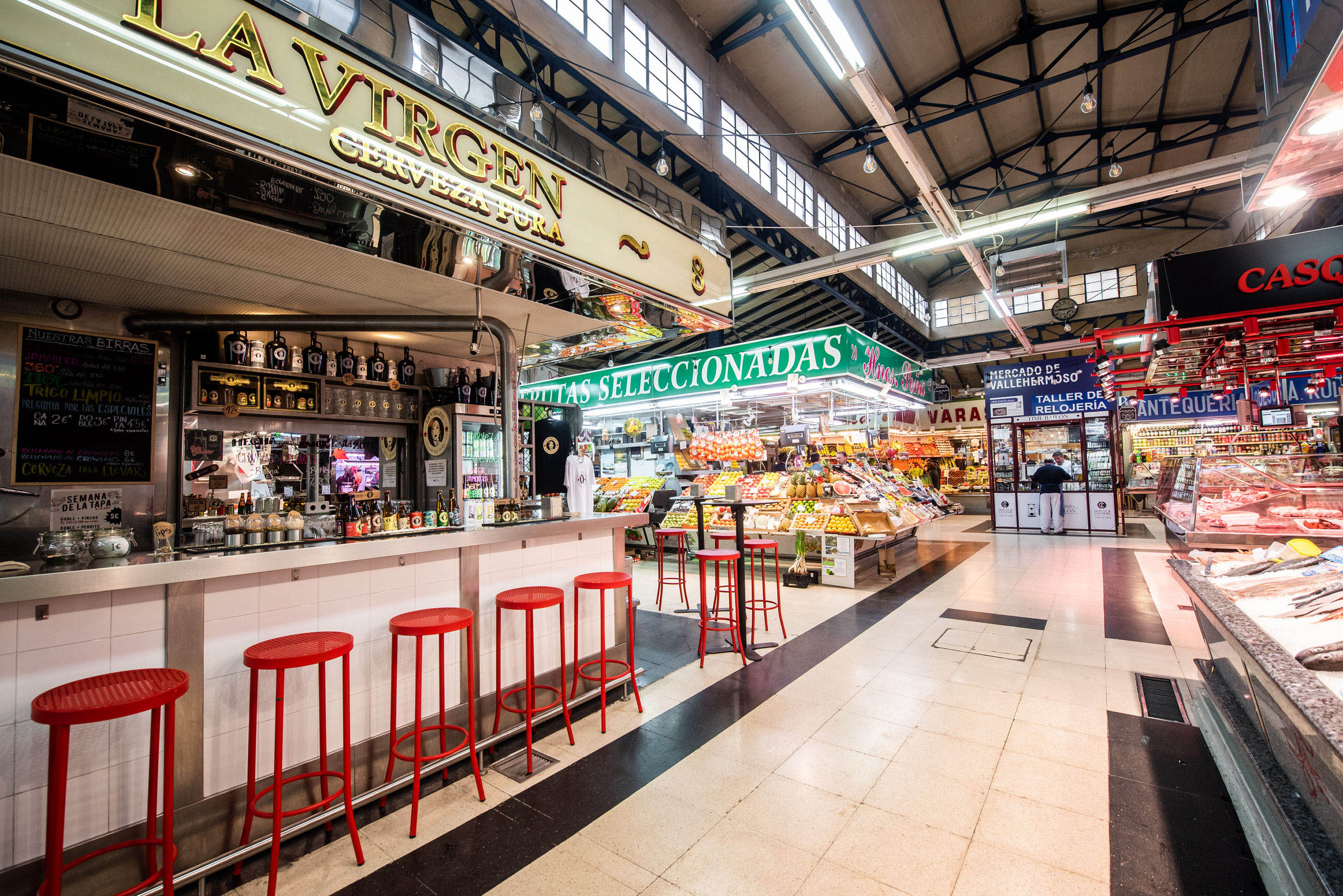 Gaztapiles se vuelve a instalar en el Mercado de Vallehermoso