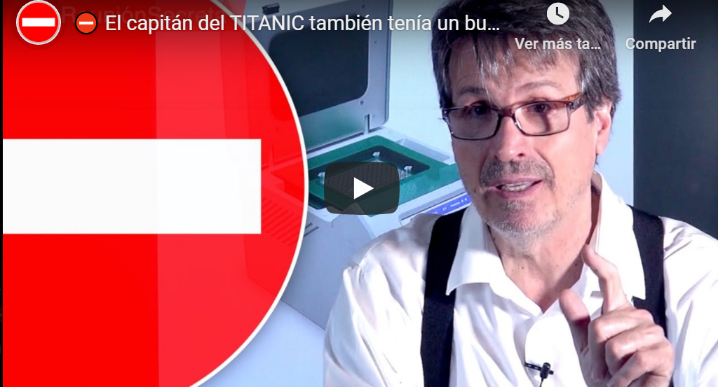 Doctor Gaona: «El capitán del Titánic también tenía un buen currículum»